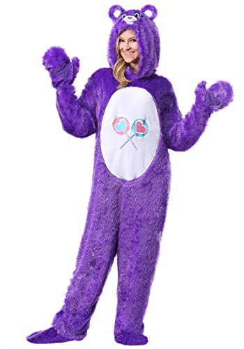 Care Bears Classic Share Bear Costume for Adults Small Purple