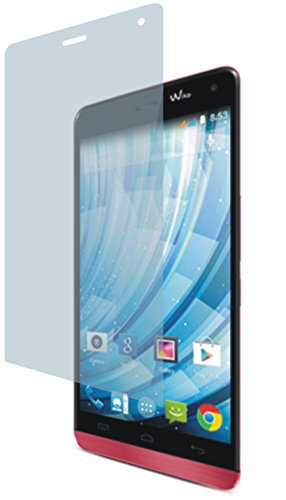 4ProTec I Wiko Getaway (2 Stück) Premium Bildschirmschutzfolie Displayschutzfolie kristallklar Schutzhülle Bildschirmschutz Bildschirmfolie Folie