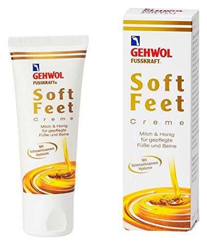 GEHWOL FUSSKRAFT Soft Feet Creme mit Milch & Honig 125 ml