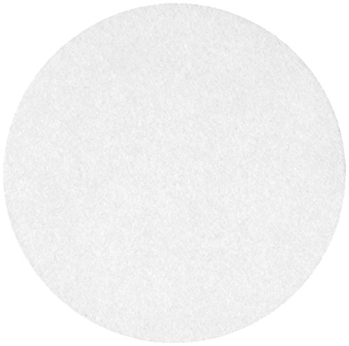 Whatman 10300214 Ashless Quantitative Filter Paper, 185mm Diameter, 2 Micron, Grade 589/3 (Pack of 100)
