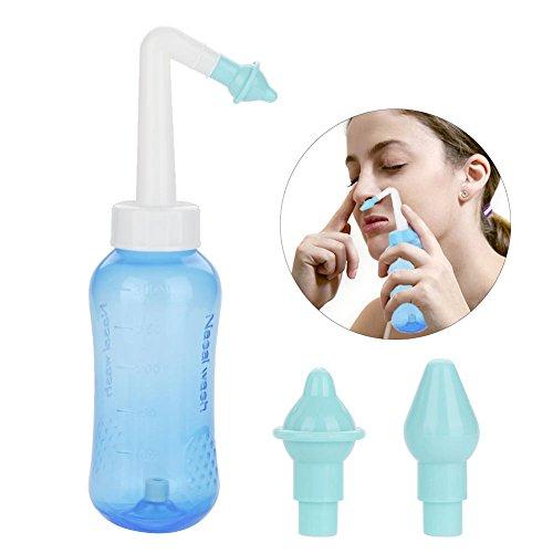 Nasal Rinser Filfeel Limpiador de Lavado Nariz Botella Riego Cuidado para Adultos y Niños Tratamiento