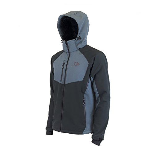 Blackfish Men's Zenith Softshell Jacket Charcoal (Xl)