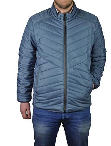 Michaelax-Fashion-Trade Calamar - Leichte Herren Steppjacke (1Y05-130010), Größe:S, Farbe:Blue (40)
