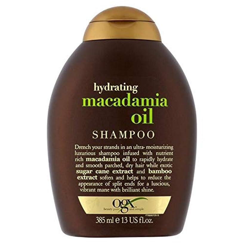 原子炉アーティスト心臓[Ogx] Ogx水和マカダミアオイルシャンプー385ミリリットル - OGX Hydrating Macadamia Oil Shampoo 385ml [並行輸入品]