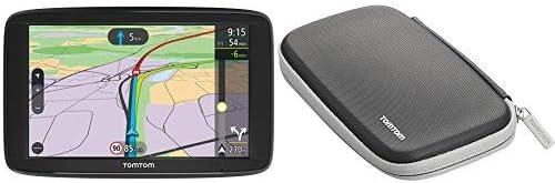 Tomtom Via 62 Europe Traffic Navigationsgerät 15 Cm 6 Zoll Sprachsteuerung Bluetooth Freisprechen Fahrspurassistent 3 Monate Radarkameras Klassische Schützende Tragetasche Navigation