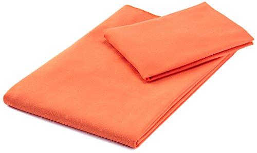 AmazonBasics sporten en reizen microvezel handdoekenset, 1 badhanddoek en 1 handdoek