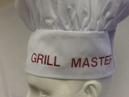 excellence CHEFSKIN Grill Master Personalized Black The Cheap mail order sales Best HAT Chef Gift