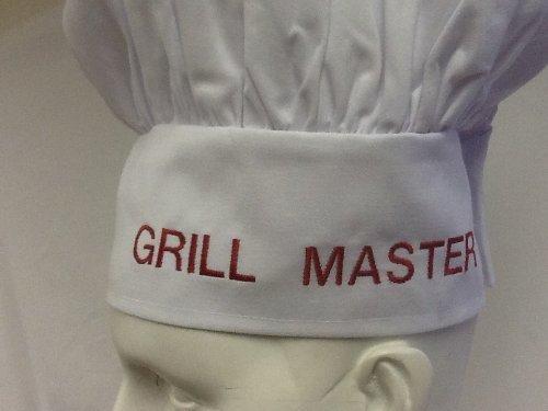 CHEFSKIN Personalizado Gorro de Chef: Grill Master
