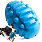 Rmolitty Squeaky Dog Toy for Aggressive Chewers, Indestructible Dog Chew Toy for Aggressive Chewers Tough Durable Dog Chew Toys for Large Medium Breed Dog with Non-Toxic Natural Rubber (Blue 1)