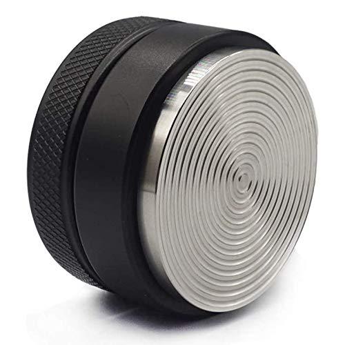Sucute Distribuidor de café de 53 mm, de acero inoxidable, accesorio de café para Breville, color negro, fácil limpieza