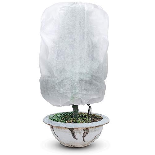 Boao 2 Piezas Cubierta de Plantas Cubiertas de Protección contra Congelamiento de Plantas Funda de Plantas Rectangular para Invierno Protección...
