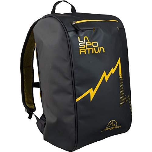 La Sportiva Climbing Bag Gelb-Schwarz, Kletterrucksack und Seilsack, Größe 22l - Farbe Black - Yellow