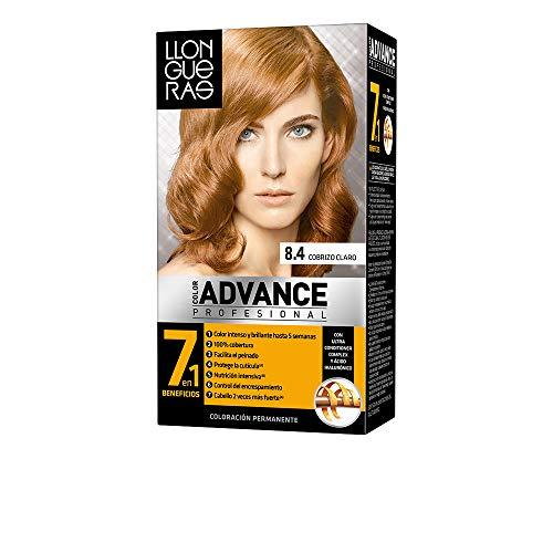 LLONGUERAS couleur ADVANCE hair colour # 8,4-light copper