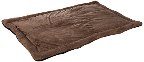 HappyCare Textiles Long Rich HCT MAT-001 Solid Super Touch Micro Mink Dog and Pet Mat, 48 by 30-Inch, Chocolate Review