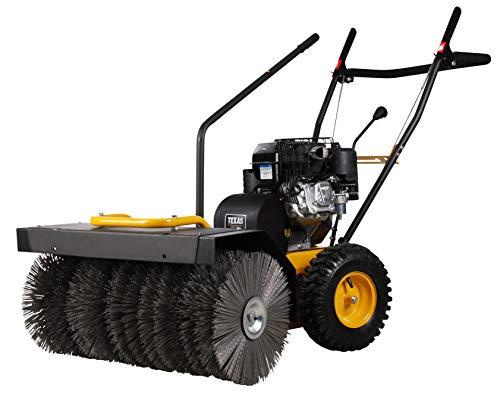 TEXAS Handy Sweep 710B Benzin Kehrmaschine (4200 Watt Leistung, 70 cm Arbeitsbreite, 3+1 Gänge, Briggs & Stratton Benzinmotor)