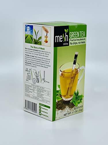 Mesh Stick Grüner Tee Green Tea 16 Sticks - Tee genießen leicht gemacht