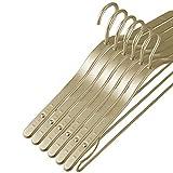 tendedero Ropa Colgador Pared 5 Piezas Colgador Ropa Metal Aleación Aluminio Antideslizante Abrigo Invierno Espesor Estante Colgante Ahorro Espacio en el hogar Almacenamiento Colgadores Ropa(Color:Ch