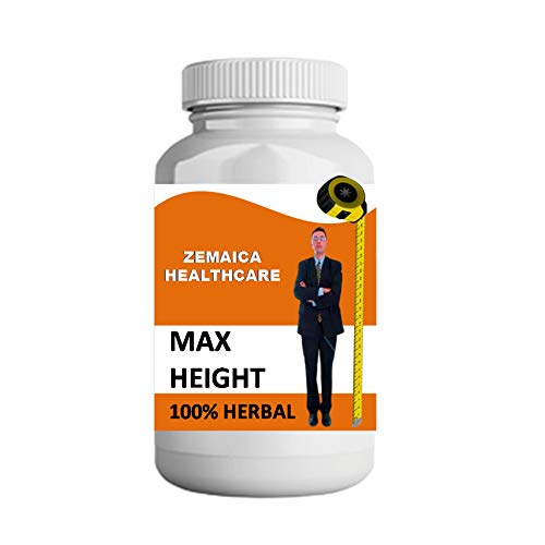Zemaica Healthcare Max Growth For Height Increase Capsule 30 gm Pack Of 1