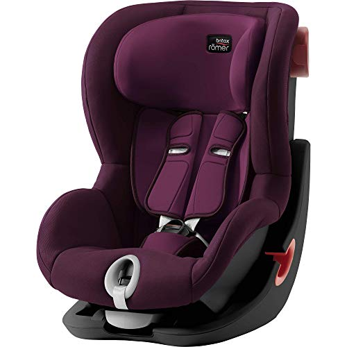 Britax Römer 2000030812 Britax Römer KING II Black Series Siège auto Groupe 1 9-18 kg Collection 2019 Burgundy Red Rouge