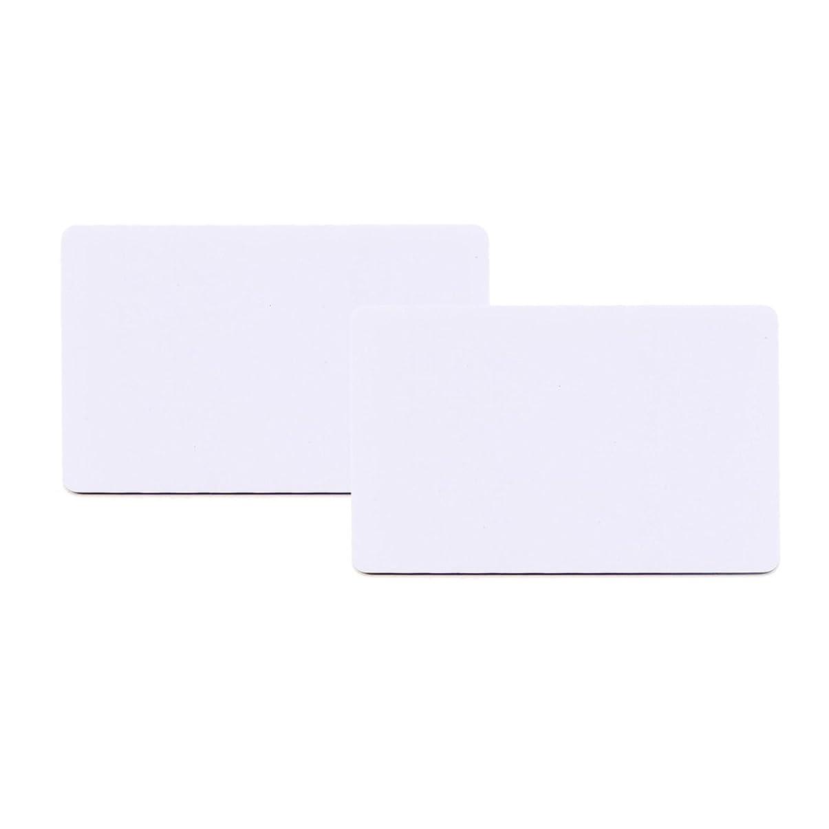 ほとんどの場合揃える四面体CMYK 書き込み可能なRFIDカード 500枚/ロット 13.56mhz アクセスコントロールカード FM1108チップ付き ホテルのドアロック用