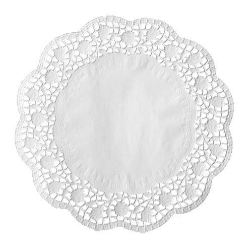 Papstar 12456, 100 tårtunderlägg, rund, diameter 32 centimeter, vit
