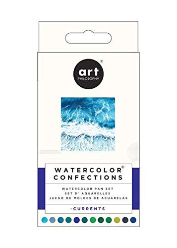 Prima Marketing Prima Confections Watercolor Pans 12/Pkg-Currents