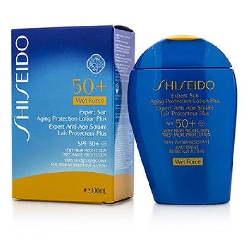 真珠のようなドキドキ白鳥[Shiseido] Expert Sun Aging Protection Lotion Plus WetForce For Face & Body SPF 50+ 100ml/3.4oz