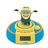 Los Minions, GRU - Radio Reloj Despertador, Dave Salta Cuando Suena la Alarma (Lexibook RL985DES)