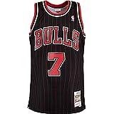 Mitchell & Ness Swingman Toni Kukoc Chicago Bulls 95/96 - Camiseta (talla XXL), color negro