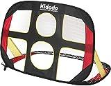 Kidodo Fussballtor Kinder Fußballtor Torwand Pop up Tor Fussballtore für Garten