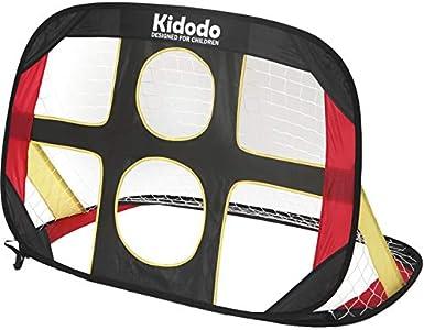 Kidodo porterias de Futbol para niños porteria de Futbol Plegable,120x80x80cm