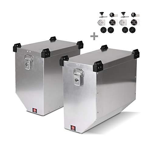 Maletas Laterales Aluminio AL 36 L para KTM 990 Adventure/R/S + Kit