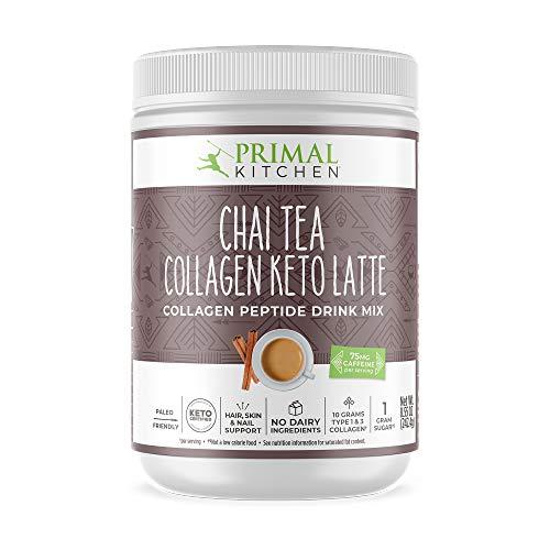 Primal Kitchen Collagen Keto Latte, Tea, chai, 8.55 Oz