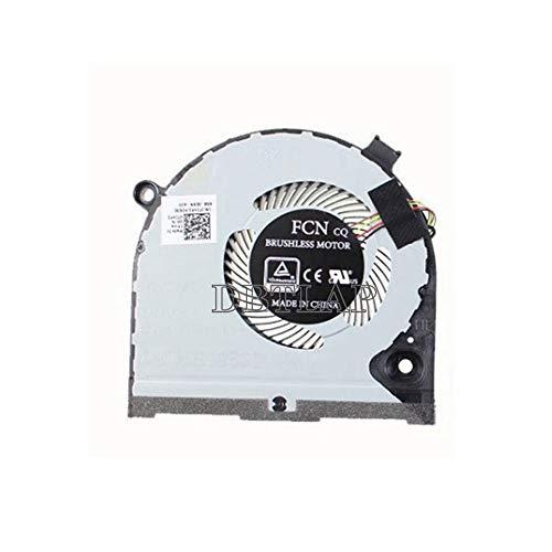 DBTLAP Nuevo Ventilador para DELL Inspiron Game G3 G3-3579 3779 G5 15 5587 Ventilador 0TJHF2 TJHF2 Left Side