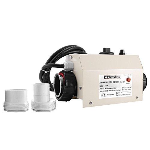 PhenixGa - Calefactor eléctrico para piscina, 48 cm, 220 V