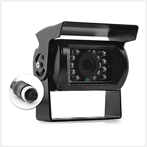 tunez 4PINCCDIR Caméra de recul 4 broches 12 V 24 V CCD IR Couleur Câble 5,10,15,20 m