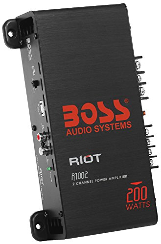 Boss Audio 2-Channel Amp (R1002 Riot)