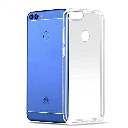 Lanseede Huawei P Smart Hülle, Crystal Clear Silikon Schutzhülle für Huawei P Smart Hülle TPU Bumper Cover Hülle Transparent