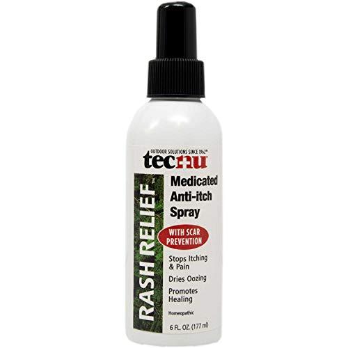 Tecnu Rash Relief Medicated Anti-Itch Spray, 6 oz. Pump Spray
