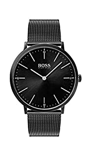 Hugo Boss Homme Analogique Classique Quartz Montre avec Bracelet en Acier Inoxydable 1513542 (B076B2NG7K) | Amazon price tracker / tracking, Amazon price history charts, Amazon price watches, Amazon price drop alerts
