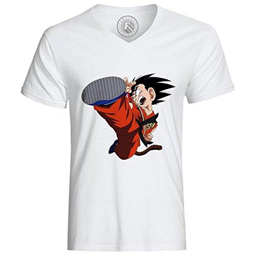 Fabulous T-Shirt Dragon Ball Manga Goku Fight DBZ
