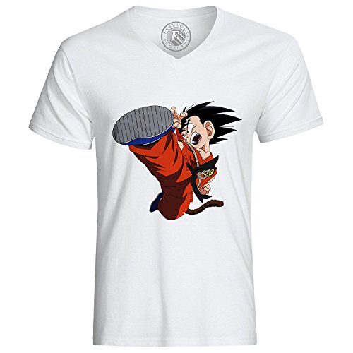 Fabulous T-Shirt Dragon Ball Manga Goku Fight DBZ