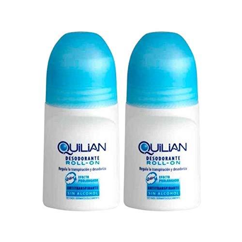 Quilian Duplo Desodorante Roll On, 2x75ml