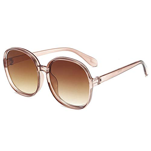 Gafas De Sol Polarizadas Gafas De Sol Clásicas Clásicas De Plástico para Mujer, Montura Redonda De Gran Tamaño, Gafas De Diseñador De Marca, Gafas Grandes, Gafas, Marr