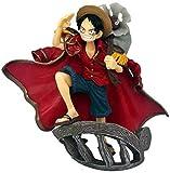 LJUCTD One Piece Theatre Version Top Model King Eagle Eye 15cm PVC Anime Juego de dibujos animados Modelo de personaje Estatua Personaje Juguete de colección Decoración Regalo para familiares y amigos
