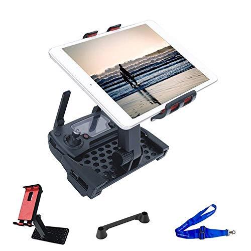LSB-SHOWER 3 en 1 Tablet soporte teléfono titular para DJI Mavic Pro Air Spark Mavic 2 Zoom Drone controlador Joystick Guard Lanyard Correa piezas
