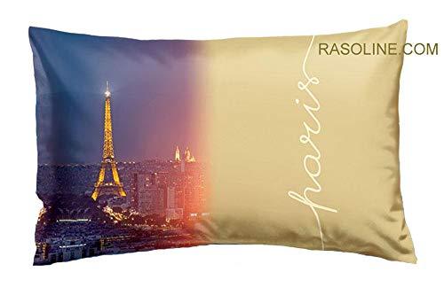 Bassetti Taie d'oreiller Bon Voyage cm.50 x 80 Imagine – Pur Coton