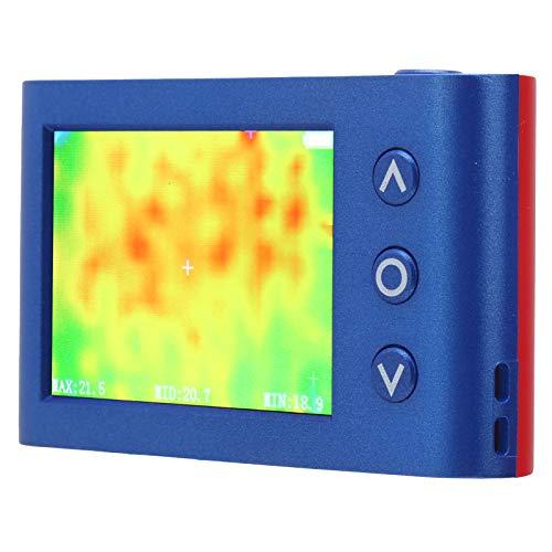 Cámara termográfica recargable, cámara termográfica infrarroja portátil de mano con pantalla a color de 3,4', medidor de temperatura termográfica IR, rango de temperatura de -40 ℃ ~ 300 ℃