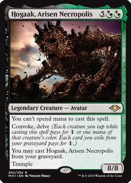 Magic: The Gathering - Hogaak, Arisen Necropolis - Modern Horizons