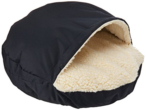 Snoozer Cozy Cave, Navy, Large